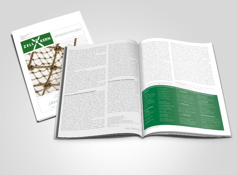 Zellkern Jahresbericht 2013