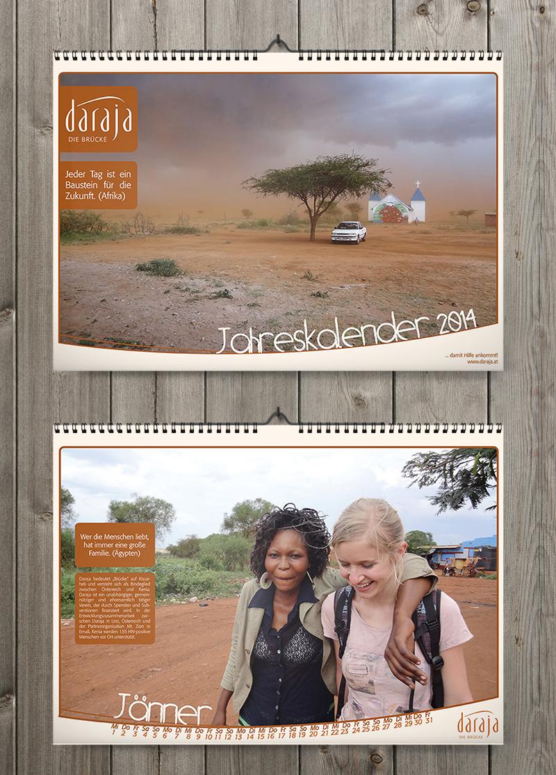 Daraja Jahreskalender 2014