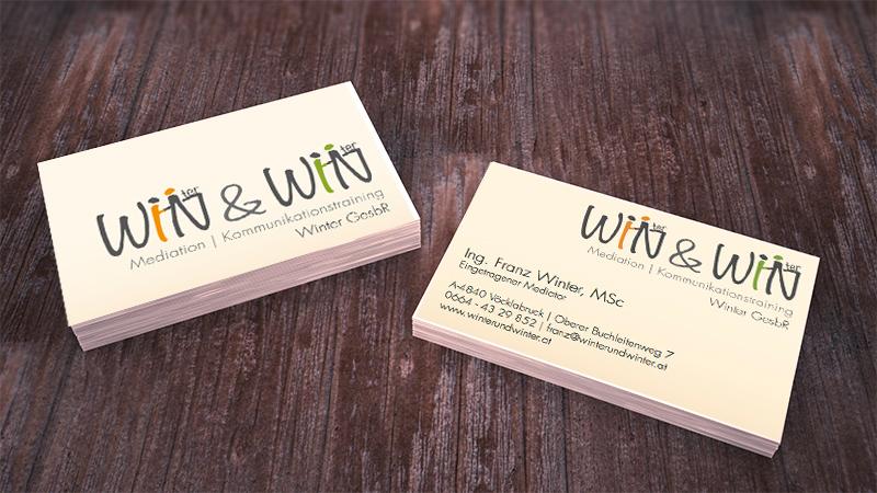 Visitenkarten für Winter & Winter GesbR
