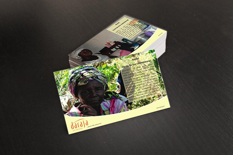 Postkarten für Daraja