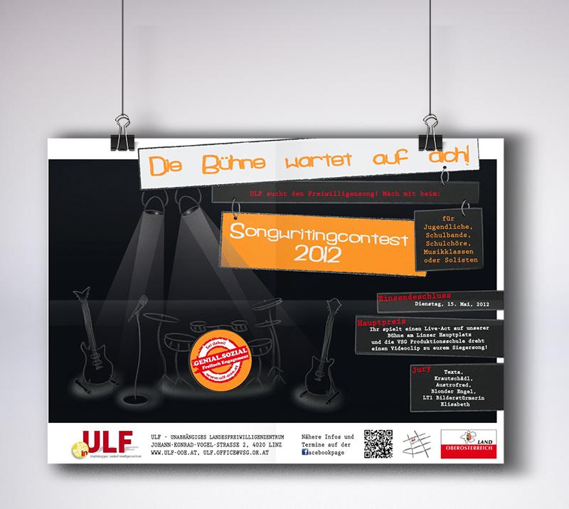 "Plakat ""Songwritingcontest 2012"""